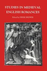 Studies in medieval English romances : some new approaches