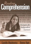 Reading comprehension : strategies for independent learners