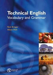 Technical English : vocabulary and grammar