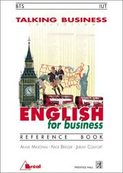 English for business : reference book : BTS-IUT