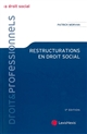 Restructurations en droit social
