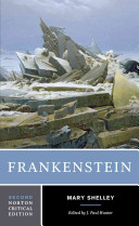 Frankenstein : the 1818 text, contexts, criticism